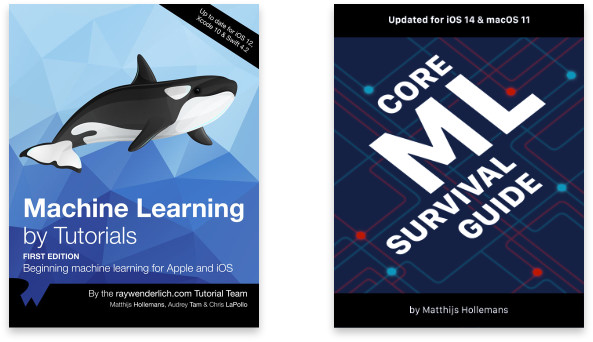 Machine Learning by Tutorials, Core ML Survival Guide